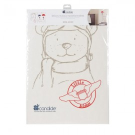 Tatuaj de perete sticker Candide Little Aviator