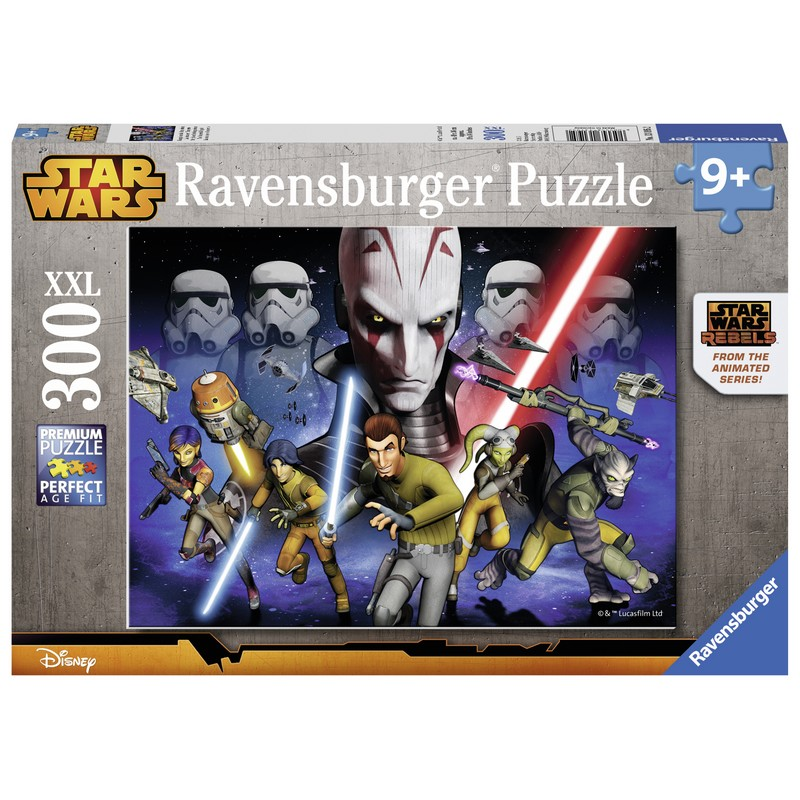 PUZZLE STAR WARS REBELS 300 PIESE RAVENSBURGER