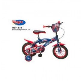 Bicicleta 12 Spiderman Toimsa