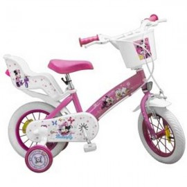 BICICLETA 12 MINNIE MOUSE CLUB HOUSE FETE TOIMSA