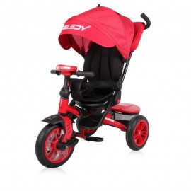 Tricicleta pentru copii Speedy multifunctionala 4in1 Red Black