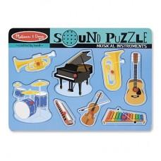 Melissa Doug puzzle sonor Instrumente muzicale