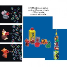 Baloane de sapun Mini Bubelix Bubble Safari Pustefix Bubble Toys