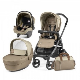 Carucior 3 in 1 Book Plus 51 S Black Class Peg Perego