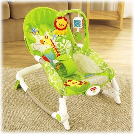 Balansoar 2 in 1 Newborn to Toddler Rainforest Friends Fisher Price