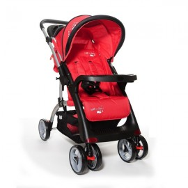 Carucior sport cu maner reversibil I Love My Parents Red Juju