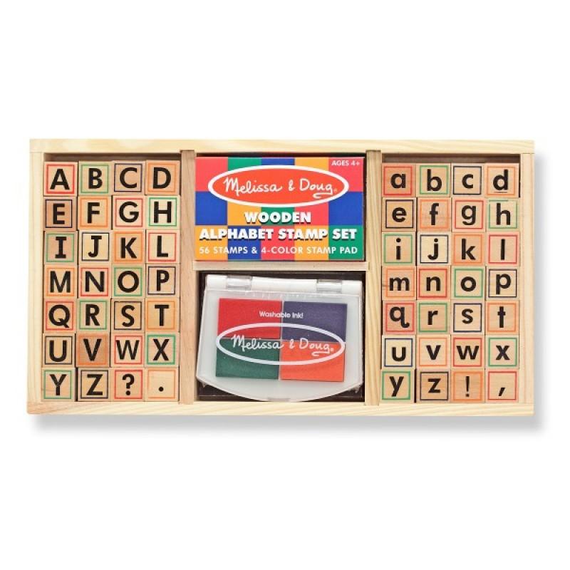 Set de stampile Alfabet Melissa Doug