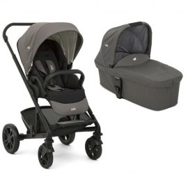 Carucior multifunctional 2 in 1 Chrome Foggy Gray Joie