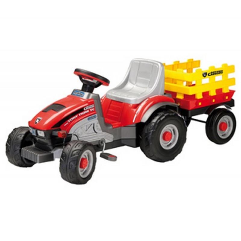 Peg Perego tractoras mini Tony Tigre cu pedale
