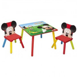 Set masuta si 2 scaunele Disney Mickey Mouse Delta Children