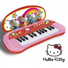 PIAN CU FIGURINE HELLO KITTY REIG MUSICALES