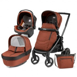 Carucior 3 In 1 Black Mat Team Peg Perego