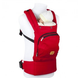 Marsupiu anatomic Cangoo Active Air Red BabyGo